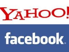 Parteneriat Facebook-Yahoo: social media la patrat