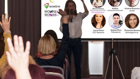 Participa GRATUIT la conferinta Femei de cariera. Vezi cine sunt speakerii si care sunt subiectele abordate