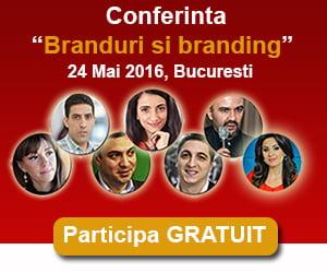 Participa gratuit la conferinta Branduri si branding