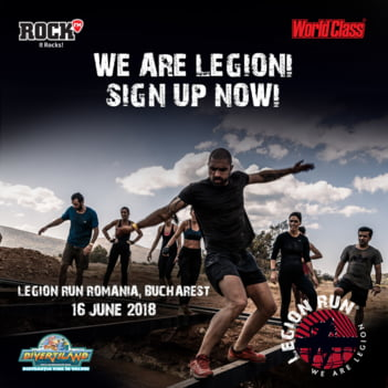 Participa si tu la Legion Run!