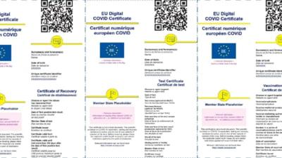 Pasaportul COVID, aprobat definitiv in UE. Cand va fi emis in Romania