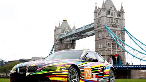 Pasionat de arta si masini? Viziteaza BMW Art Drive! in Londra