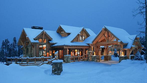 Pasionat de ski? Vezi topul celor mai scumpe vile din statiunile montane