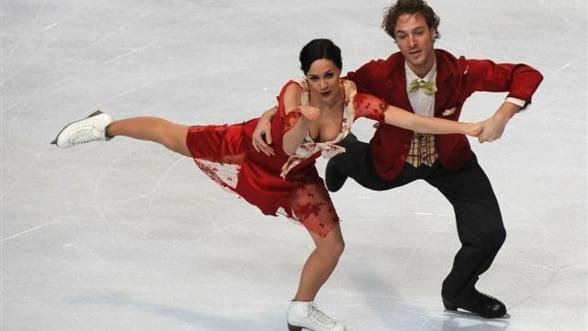Patinaj artistic: Nathalie Pechalat-Fabian Bourzat si-au pastrat titlul european la dans