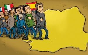 Patru din cinci tineri vor sa plece in strainatate. Urmatoarea destinatie a muncitorilor romani va fi Irlanda