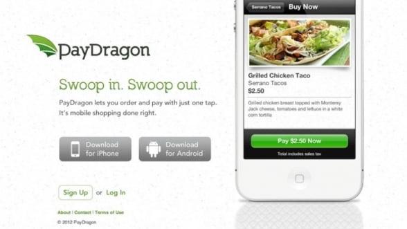 PayDragon, aplicatia care achita nota de plata