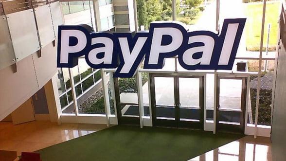 PayPal: Venituri in crestere cu 26% in 2012