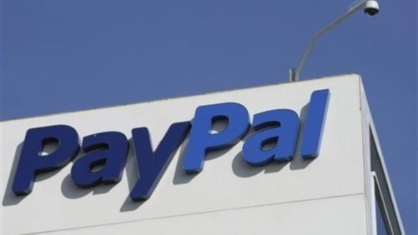 PayPal creste exponential: Numarul de plati procesate se dubleaza de la an la an