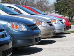 Pe locul sapte in UE la declinul inmatricularilor de masini noi