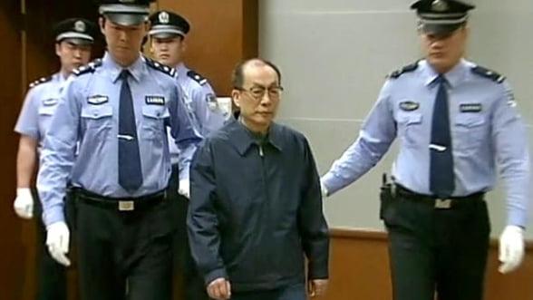 Pedeapsa cu moartea in cazul de coruptie al fostului ministru al Cailor Ferate din China