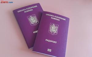 Pentru cei de peste 25 de ani, pasapoartele ar putea sa fie valabile 10 ani - proiect