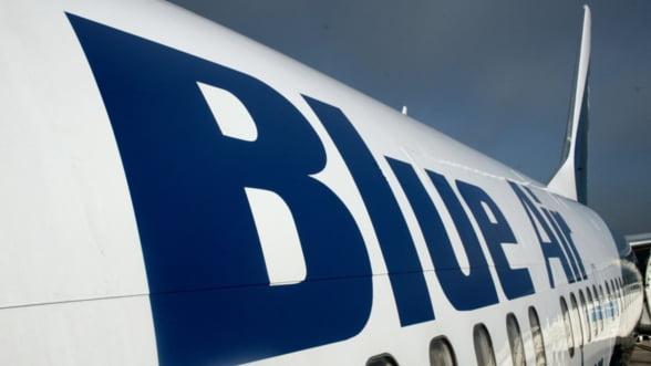 Perchezitii la Blue Air: Zborurile se desfasoara in conditii normale