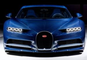 Performanta fabuloasa pentru Bugatti Chiron