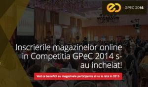 Peste 100 de branduri participa la Competitia Magazinelor Online GPeC 2014