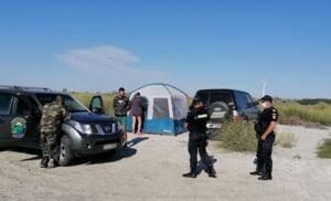 Peste 13.500 de turisti la plajele Vadu si Corbu in weekend. Cate amenzi au dat autoritatile