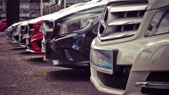 Piata auto europeana a inregistrat prima scadere din acest an