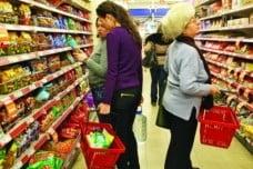 Piata bunurilor de larg consum a crescut cu 18% in T1