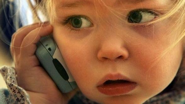 Piata de telefonie mobila din Romania, in randul copiiilor: Care sunt cifrele