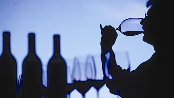 Piata vinului imbuteliat este in scadere