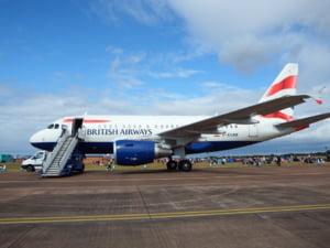 Pilotii British Airways intra in greva. Zboruri sunt anulate luni si marti