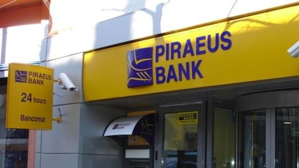 Piraeus Bank a strans capitalul necesar pentru a evita nationalizarea