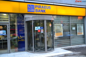 Piraeus Bank inchide 19 sucursale in Romania, actionarii ar negocia din nou vanzarea bancii - surse