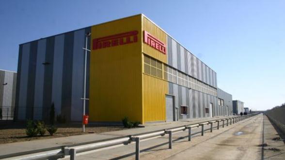 Pirelli produce in Romania cauciucuri pentru cursele de viteza
