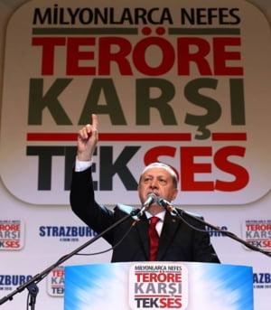 Planul lui Erdogan in trei pasi pentru rezolvarea crizei refugiatilor. Ce vrea in schimb de la UE