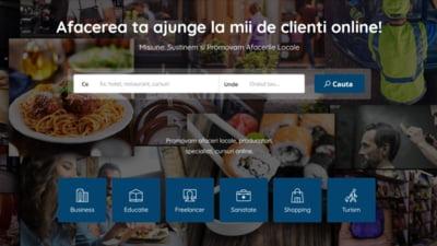 Platforma de promovare pentru afacerile locale, disponibila gratuit pentru 90 de zile