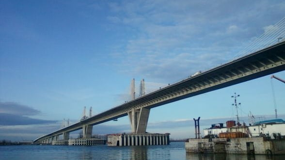 Podul Calafat - Vidin, la ora deschiderii. Vezi pentru ce dai banii ca sa treci la bulgari