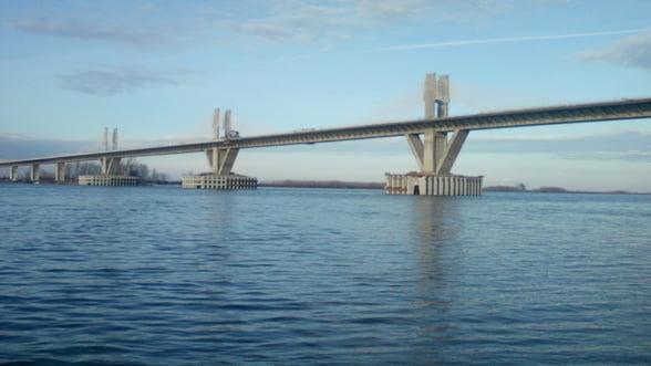 Podul Calafat-Vidin, inaugurat in 14 iunie. Care va fi taxa de tranzitare