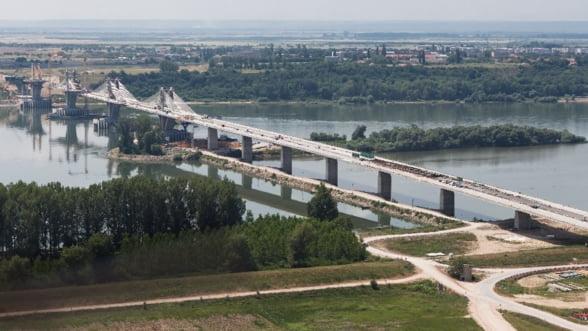 Podul Calafat-Vidin a depasit toate asteptarile - presa bulgara