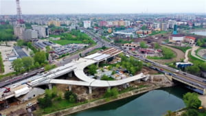 Podul peste Dambovita de la Ciurel e inca neterminat, dupa 9 ani de santier. Cand va fi gata si cu ce-i va ajuta pe bucuresteni