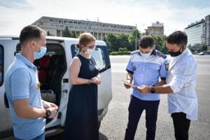 Politia Capitalei dat amenzi de 600.000 de lei, in ultimele trei zile, pentru nerespectarea masurilor anti-Covid