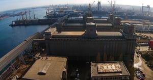 Poluare cu motorina in Portul Constanta