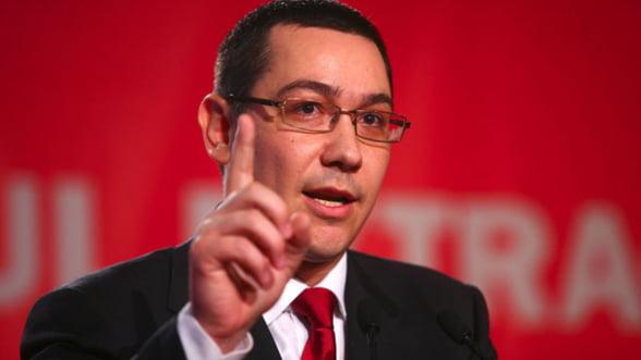 Ponta - Basescu sa nu voteze propunerea lui Van Rompuy pentru buget