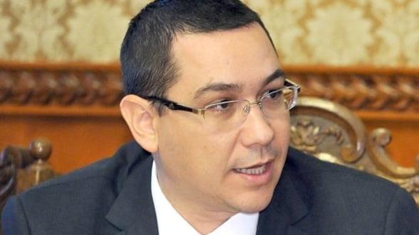 Ponta: ANPC, ANSVA si Inspectia Sanitara ar putea fuziona