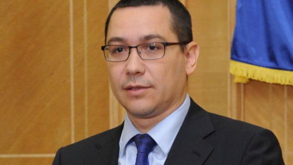 Ponta: Acordul cu FMI este un semn de stabilitate, certificat de institutiile internationale