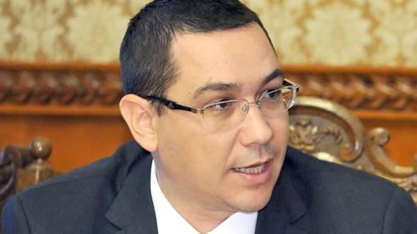 Ponta: Am incasat venituri mai mari cu trei miliarde de lei, in 2014