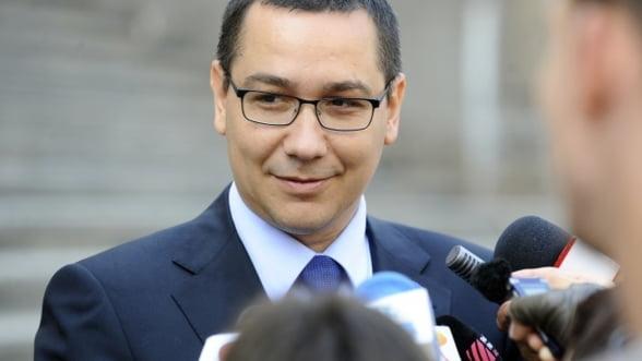Ponta: Astazi finalizam negocierile cu FMI, dorim votul pe buget in Parlament pe 21 decembrie