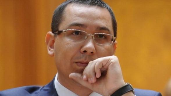 Ponta: Avem un prim proiect de buget; discutiile cu FMI incep din 15 ianuarie