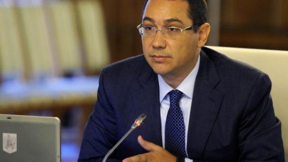 Ponta: Bugetul pe 2014 a fost construit pe baza cresterii economice din acest an