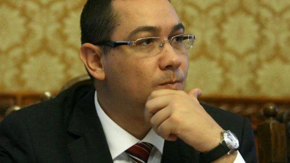Ponta: CE se inchide mai repede anul asta ca sa nu ne mai dea noua bani