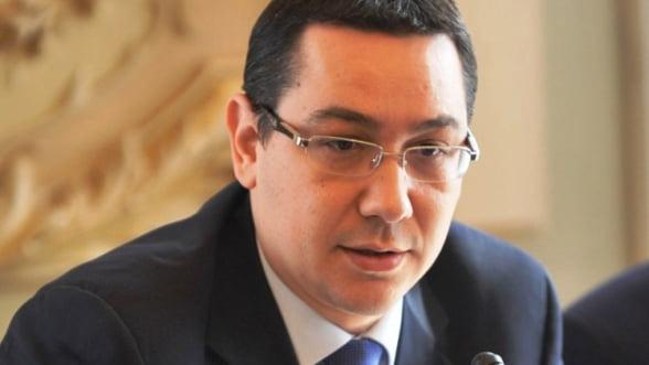 Ponta: Controlul la POSDRU trebuie continuat, chiar daca vor exista beneficiari nemultumiti