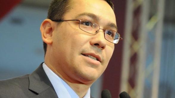 Ponta: Creditul de la Banca Mondiala, cea mai ieftina cale de finantare a deficitului bugetar