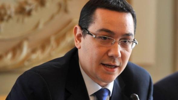 Ponta: Deficitul va fi 2,2% anul viitor. Romania a iesit din recesiune
