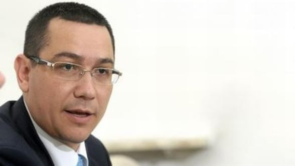 Ponta: Doar fonduri europene pentru drumuri