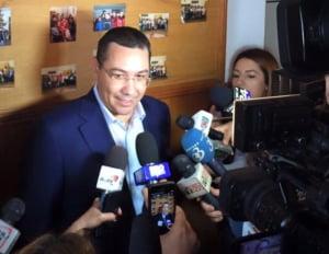 Ponta: Dragnea mi-a propus de dimineata sa fiu ministru. Puteam chiar sa-mi aleg portofoliul