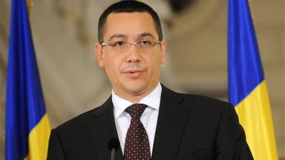 Ponta: Executia bugetara din primul trimestrul poate conduce la scaderea CAS