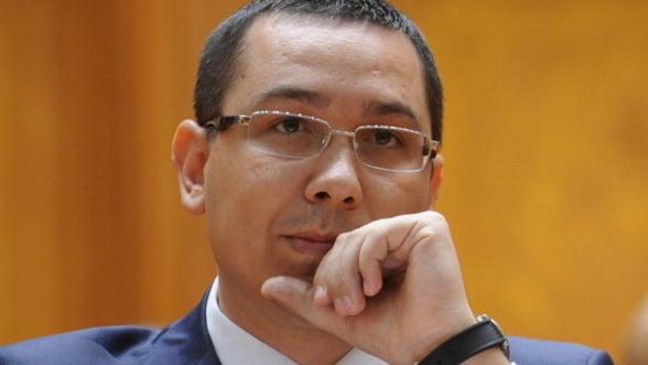 Ponta: FMI crede ca e mai bine sa refacem procedura la CFR Marfa decat sa fie contestata